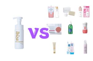 イビサソープと他の人気石鹸を比較