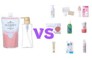 クリアネオパールと他の人気石鹸を比較