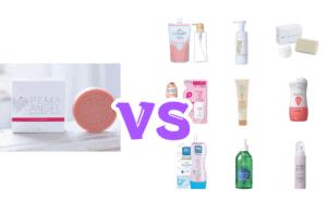 ペマエンジェルレディハートと他の人気石鹸を比較