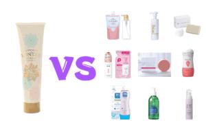 ロンタルハーバルジェルソープと他の人気石鹸を比較